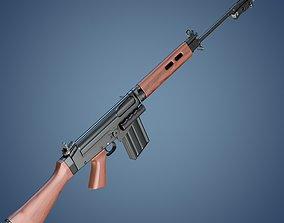 3D FN FAL rifle