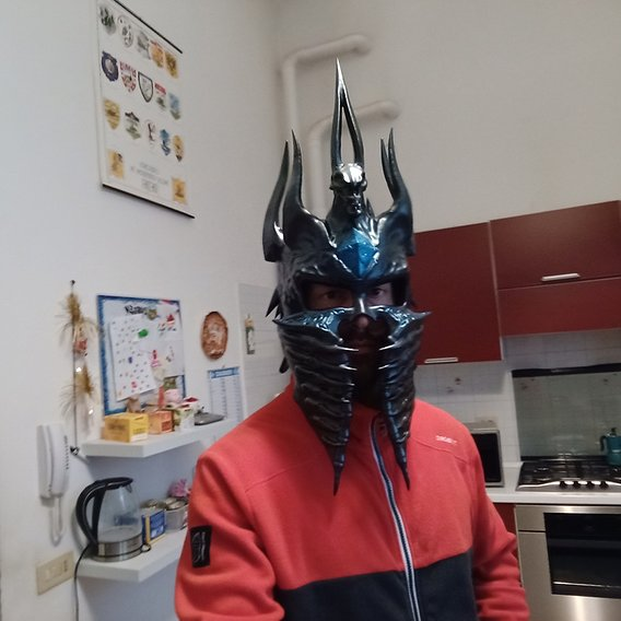 THE LICHKING PROJECT - part 1- Helmet