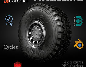 3D model MICHELIN X OFFROAD WHEEL CLEAN DIRTY DUSTY