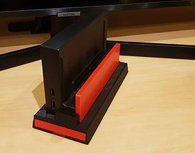 pc-laptop Stand HDD for Nintendo Switch 3D print model