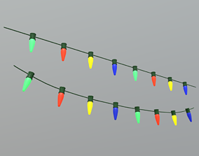 Fairy Lights 3D model
