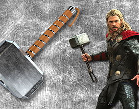 Thor Hammer 3D printable model