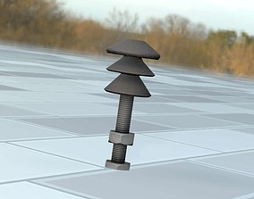 Electricity Poles Insulator 4 - Object 082 3D asset