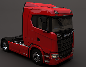 3D model Scania R 500 Highline