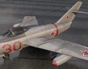 Mikoyan-Gurevich MIG-15 Fagot 3D model