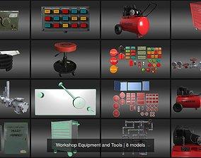 Workshop Equipment and Tools 3D model