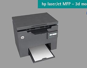 3D model Hp LaserJet Pro MFP