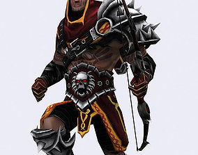 3DRT - Dark Archer animated realtime