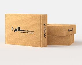 Cardboard Package 3D model