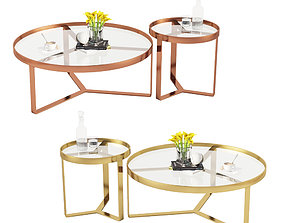 Made Aula coffee table Side Table 3D model