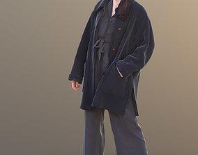 Francine 10362 - Standing Winter Woman 3D model