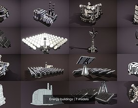 Energy buildings rts 3D model