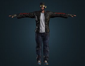 Best Spy Male Military Character 3D asset