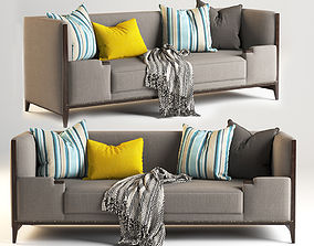 Hickory Lounge Sofa Furniture 3D