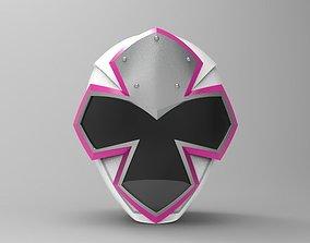 White Ranger Helmet from Ninja Steel for 3D