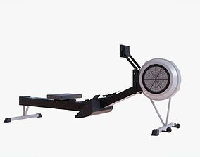 Rowing Machine - Indoor Rower - Gym 3D model