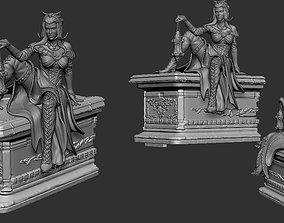 mtg Liliana Vess helloween cut edition 3D print model