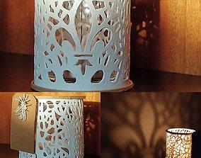 3D print model Light flower candle