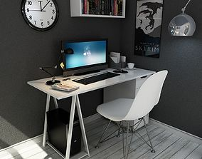 3D model Desk in The Home Style