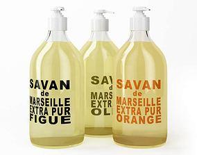 3D model Modern Cosmetics In Dispenser Bottles