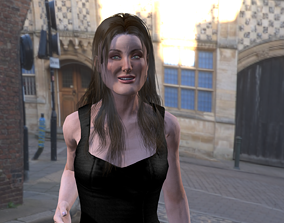 3D model Angelina Jolie