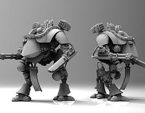 3D printable model Feudal Guard Walker