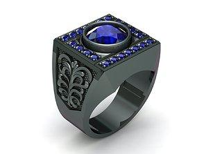 MGold044 Man Ring 3dmodel 3D print ready