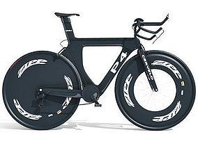 Black Sport Bicycle 3D