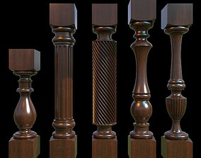 Baluster 3D model design