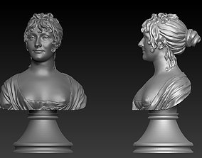 Bust of Woman 3d model