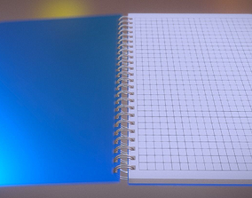 Notepad squared animated 3D