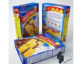3D model Pillsbury Classic Yellow Cake Mix