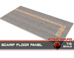 3D print model Star Wars Rogue One Scarif floor panels 1-6