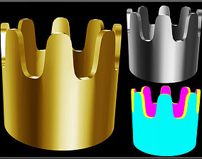 Simple Crown 3D asset