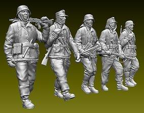 German soldiers 3D printable model military