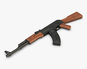 3D model AK-47 Rifle