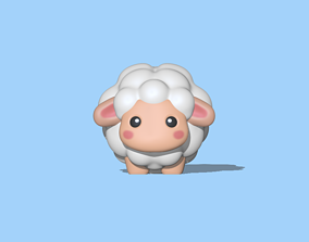 A Cute sheep for decoration and play 3D print model
