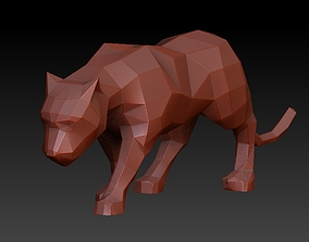 3D printable model Black panther sculpt