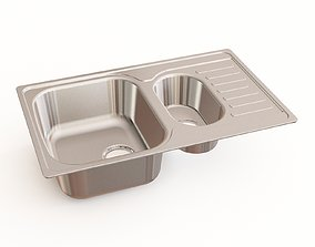 3D Kitchen sink 25