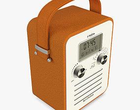Retro Radio E-Boda 3D model
