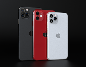 3D model Ultimate Apple iPhone 11 and 11 Pro and 11 Pro 1
