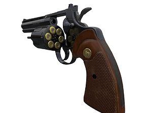 Revolver Colt python 357 magnum 3D model