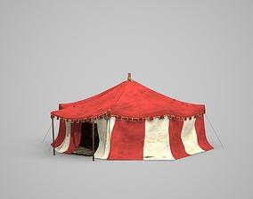 Three-dimensional model of Mongolian yurt realtime