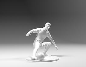 Footballer 03 Footstrike 03 Stl 3D printable model