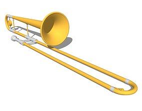 Horns - Trombone section 3D