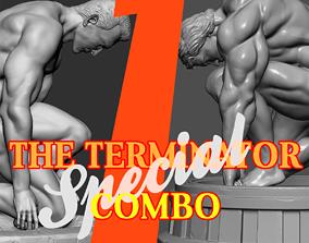 Special Combo The Terminator Statue 3D printable model