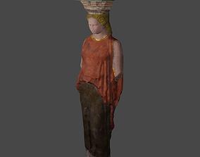 3D asset Caryatid