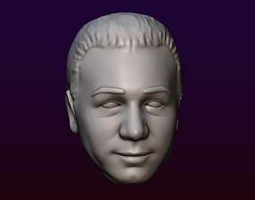 3D printable model Male head 14 Man head