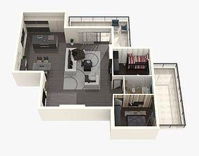plan 3D Floor Plan 2