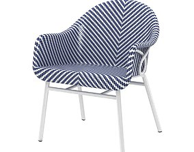 Palecek abigal outdoor occasional chair 3d model